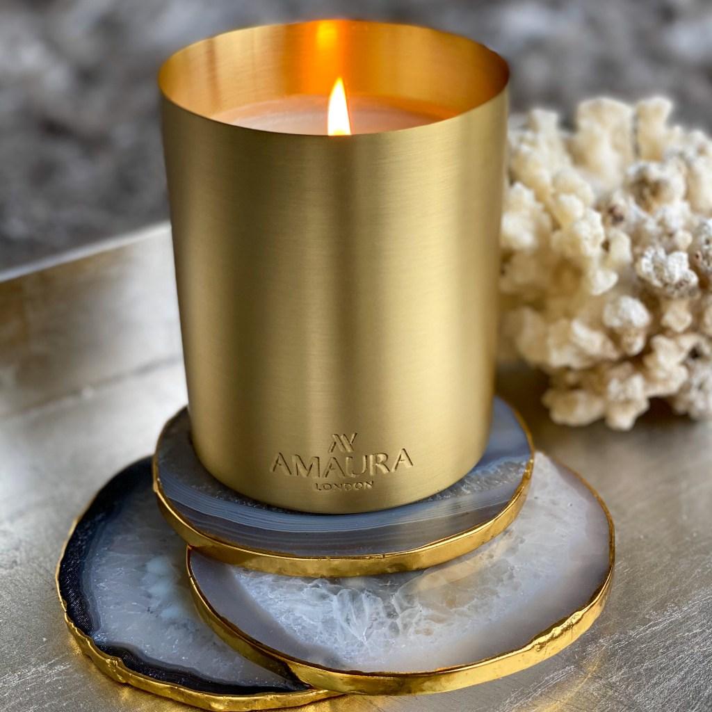 Amaura London NEW Gratitude   Eco Luxury Candle