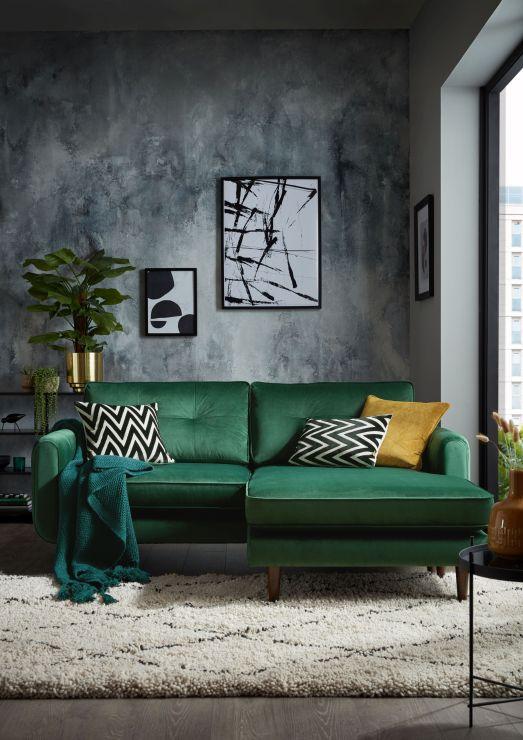 Sofology Colourful 3 Seater Sofa