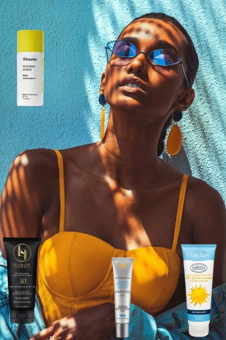 The Best Sunscreens For Dark Skin Tones To Wear All Year Round