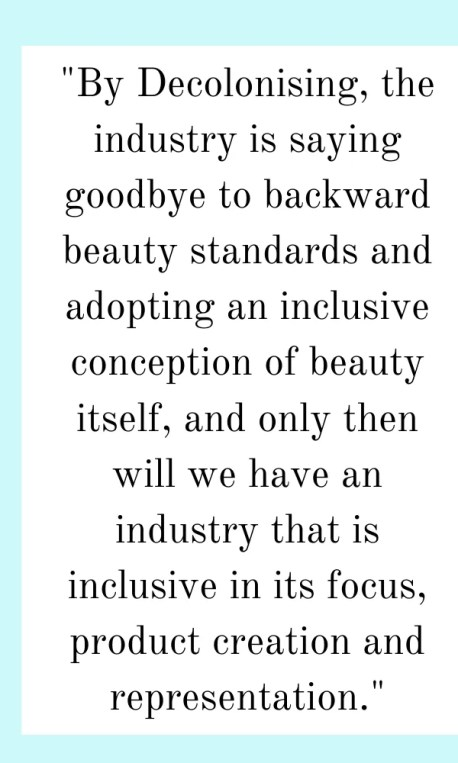 decolonising the beauty industry