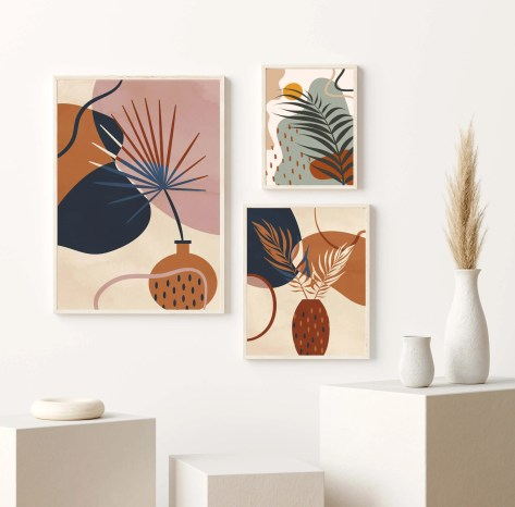 Athena Spring Floral Botanical Assorted Art Prints