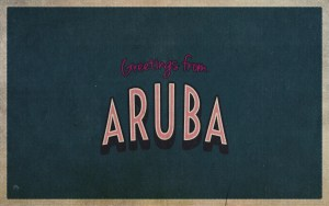 greetings from Aruba