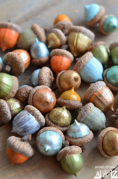 painted-acorns-yahoo