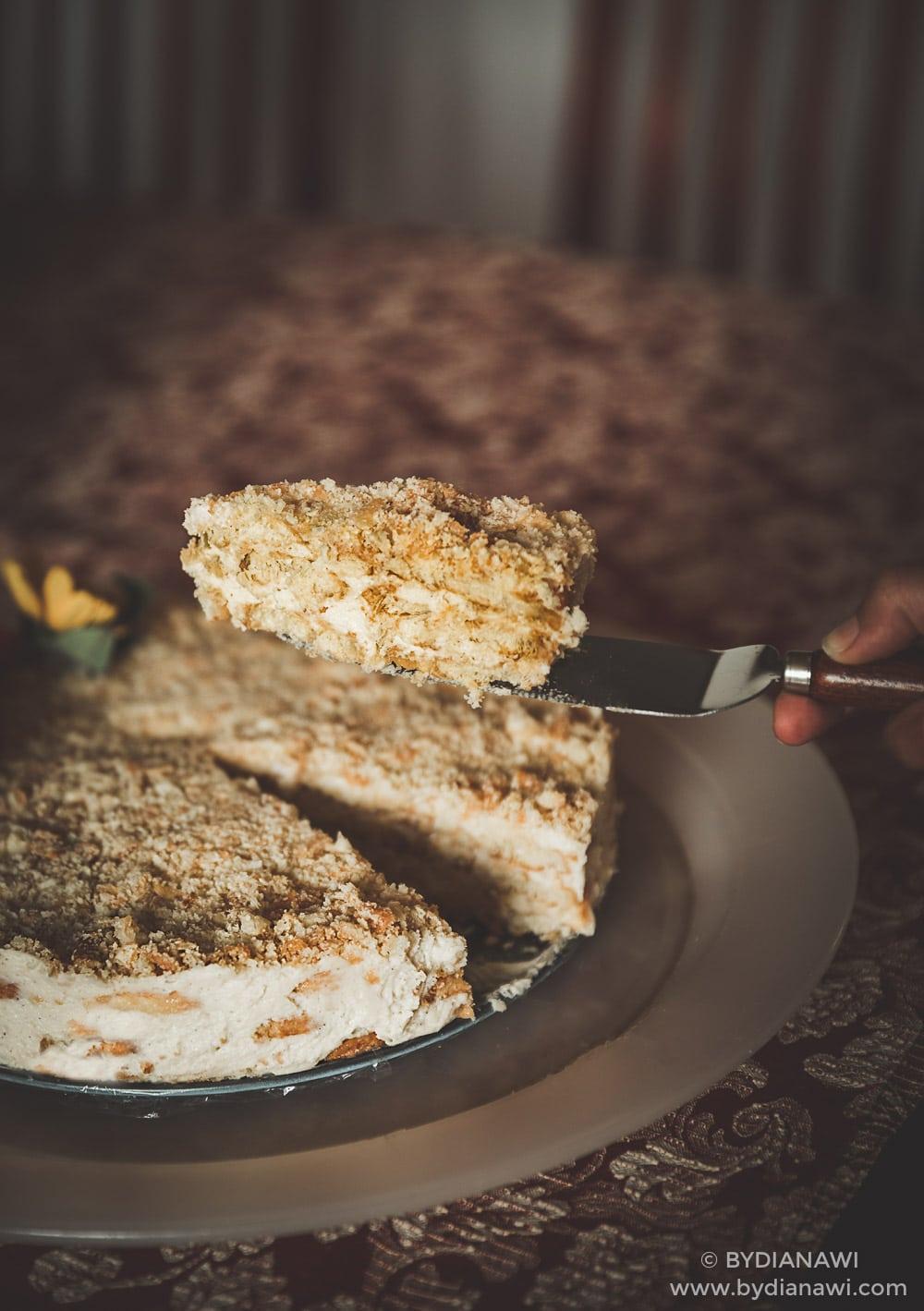 nem kage, no-bake kage, nem kage uden at bage, palmeritas de hojaldre, småkager