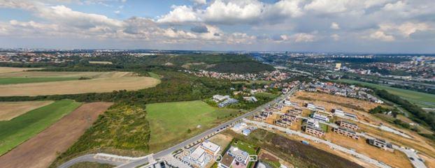 Okolí Velké Chuchle, zdroj: http://www.vilychuchle.cz/panorama/