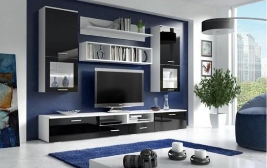 Obývací stěna je základ