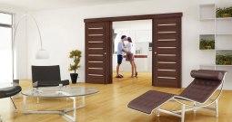 Interiérové dveře dotváří celkový vzhled místností