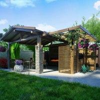 Zahradní altán. Na co všechno ho můžete využít?