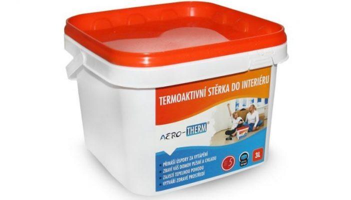 Efektivní izolace podlahy? S termoaktivní stěrkou AERO-THERM® floor!