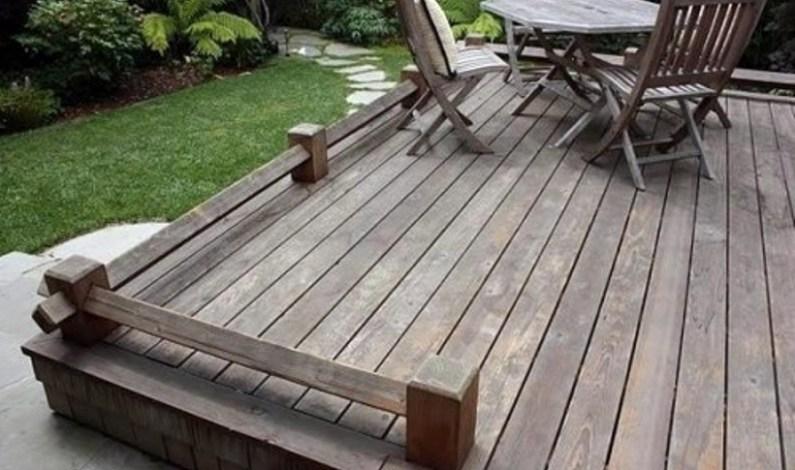 Jak připravit dřevěnou terasu na zimu
