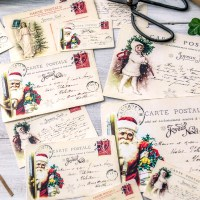 Free Vintage French Christmas Postcards