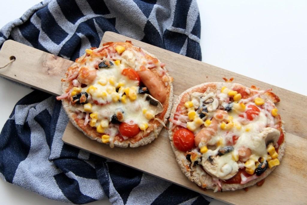 Minipizza - nem idé til madpakken