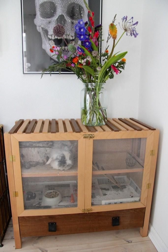 Hjemmelavet kaninbur - lav dit eget smukke kaninbur idé