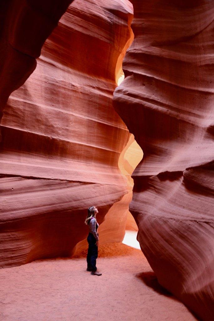 Guide til Antelope Canyon