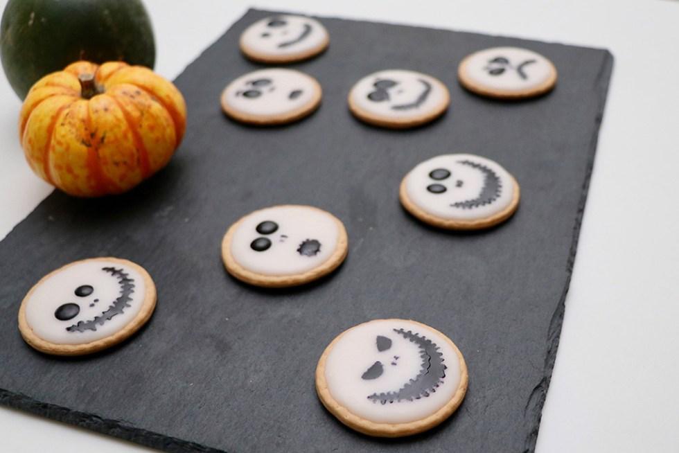 Små simple Halloweensnacks - Tim Burton inspirerede treats