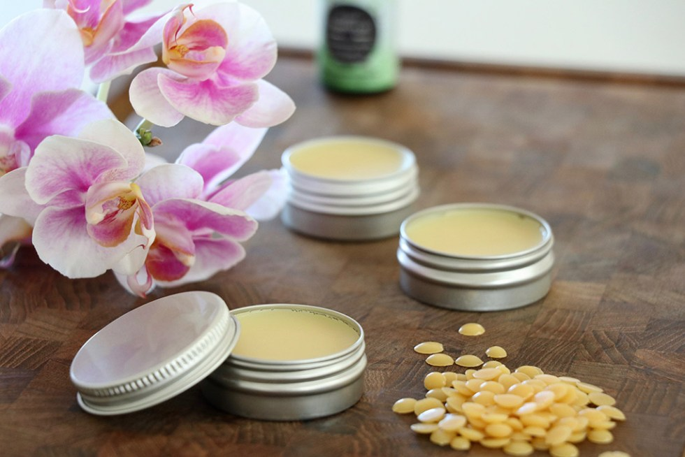 Opskrift på hjemmelavet læbepomade