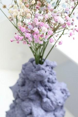 DIY vase af fugemasse - simpel inspiration til hjemmet