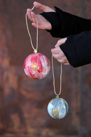 En kreativ stund - julekugler