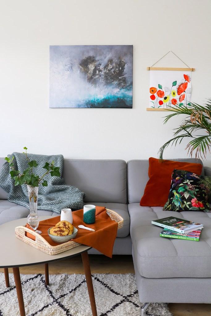 Mal selv plakater med vandfarver - indret dit hjem med hjemmelavet kunst