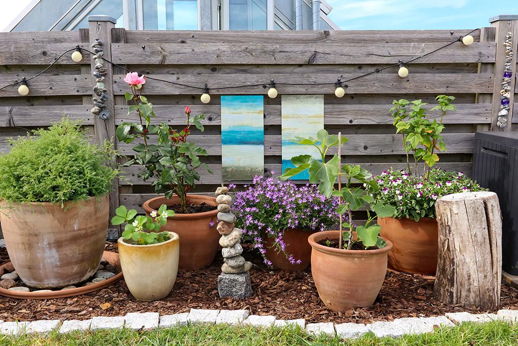 Kreative idéer til have og altan - inspiration til indretning med kunst