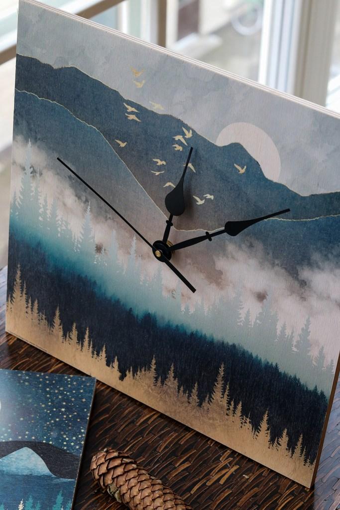 DIY ur - lav dit eget flotte vægur med printede træplader