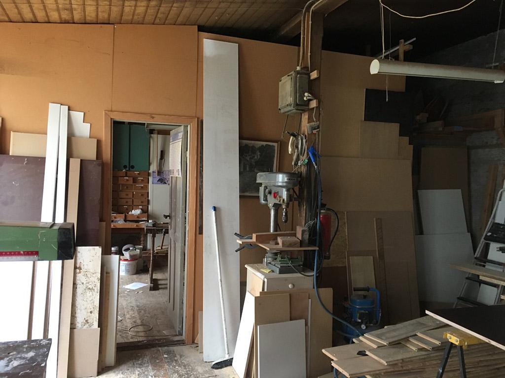 Renoveringsprojekt - et gammelt baghus med stort potentiale