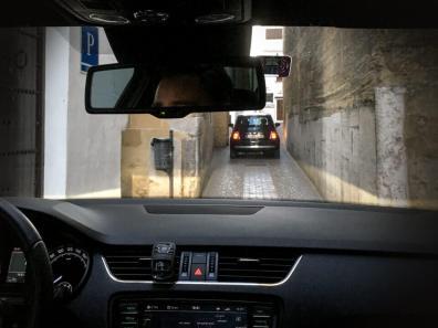 Autofahren in Andalusien Engpass Mini