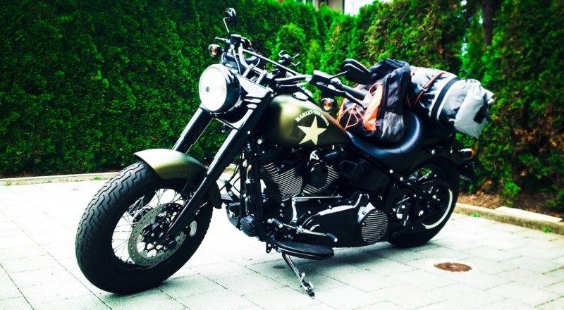 Mit der Harley nach Spanien 1 - Der Unfall - Abfahrt