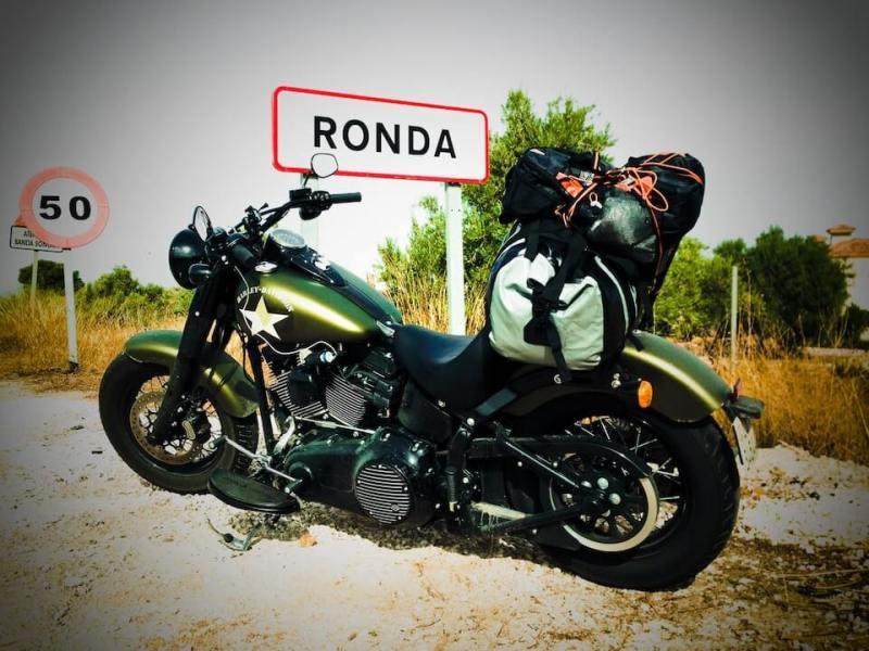 Mit der Harley nach Spanien 3 - Verloren in den Pyrenaeen - Ankunft Ronda