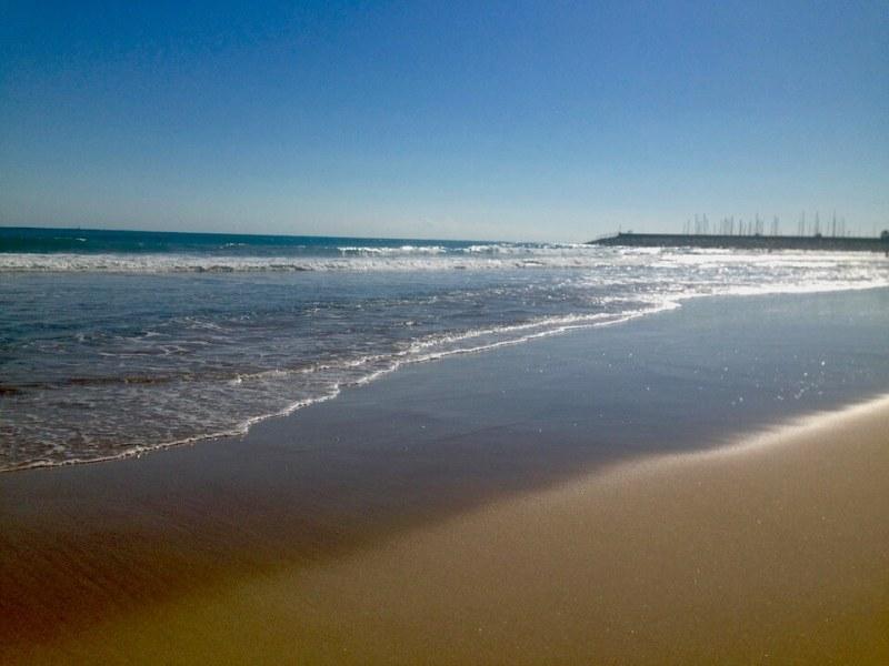 Mit der Harley nach Spanien 3 - Verloren in den Pyrenaeen - Meer