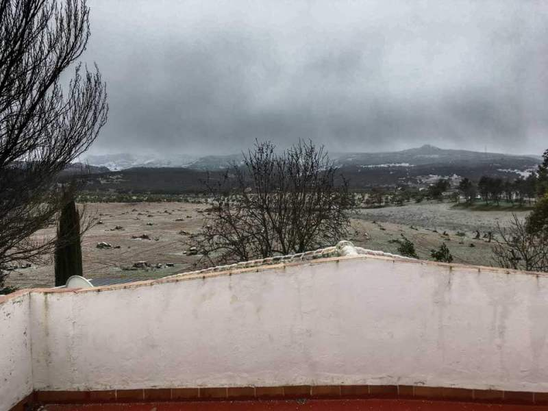 Winter in Andalusien