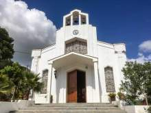 Die Mutter kommt – Montecorto Kirche