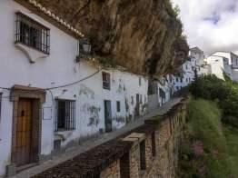 Die Mutter kommt – Setenil Felsenhaus