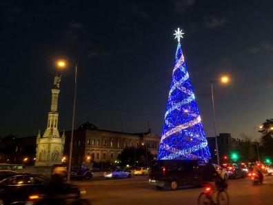 Wochenende in Madrid - Crossroad Weihnachtsbaum
