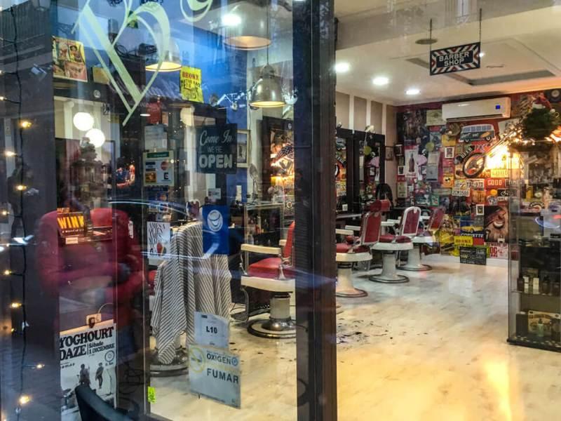 Wochenende in Madrid - Barber Shop
