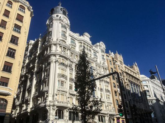 Wochenende in Madrid - Gran Via