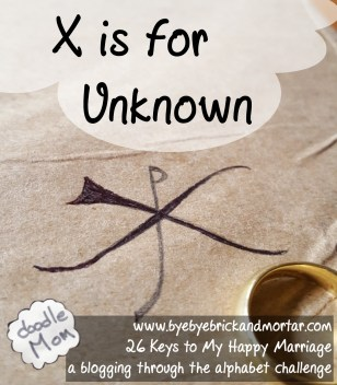 X is for Unknown