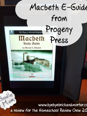 Macbeth E-Guide from Progeny Press