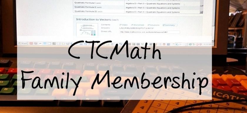 CTCMath Family Membership
