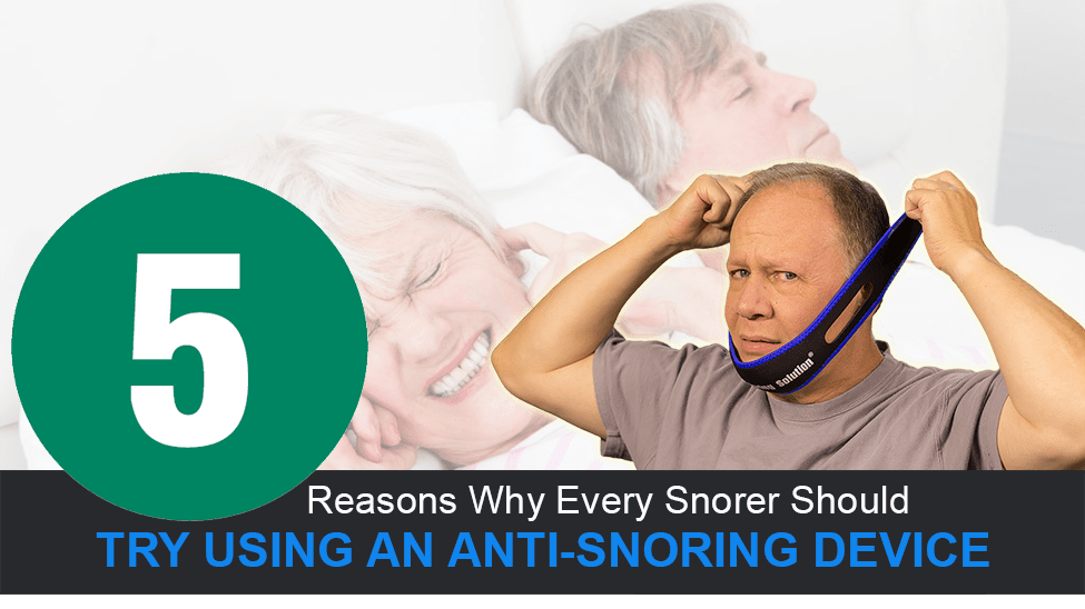 Should You Try A Snoring Device?