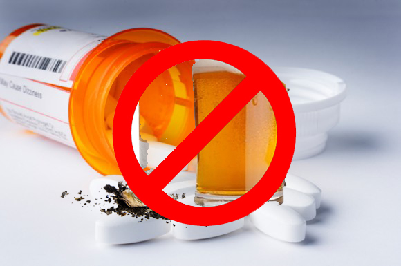 Say No To Alcohol And Sedatives