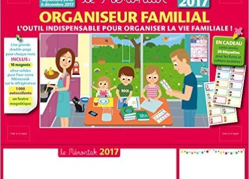Utilisez un organiseur familial pour caler les activités extra-scolaires !