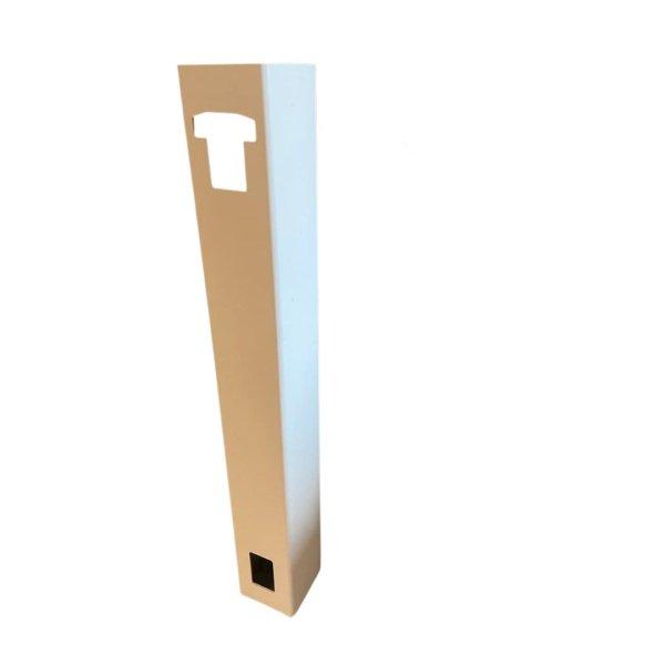 Ekstra stolper til PVC gjerder/levegger