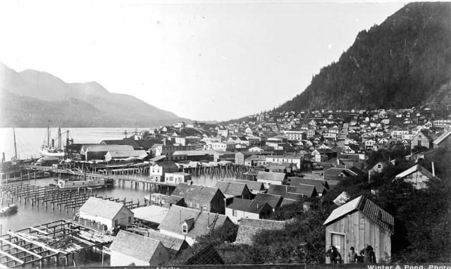 Juneau, Alaska, circa 1897.
