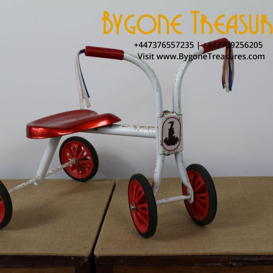 Raleigh Childs Tricycle – Complete With Original Tassels – 1960s