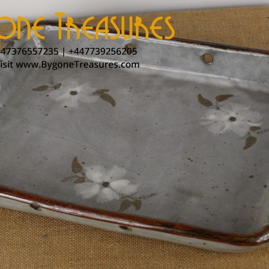 Ceramic CAH Glazed Hanging Tray