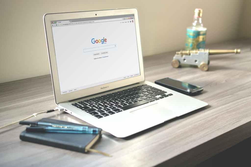 recherche sur Google depuis un ordinateur