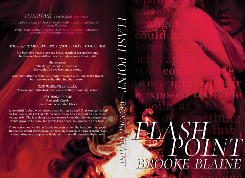 By Hang Le   Book covers  custom art  swag and more      Part 4 Flash Point by Brooke Blaine