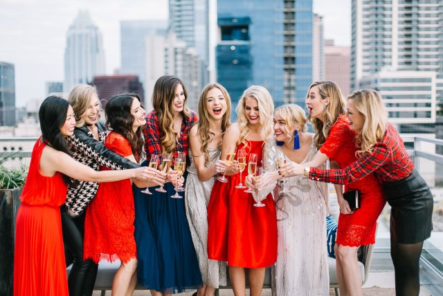 Austin Blogger Christmas Party Looks with By, Hilary Rose, Hey Kaily Mae, Janna Doan, Stylebeacon, Kaley Margaret, It's Me Haylee, The Trendy Tomboy, Dani Austin