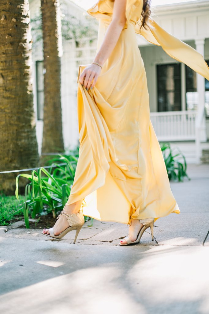 Beauty and the Beast Inspiration – The Yellow Gown